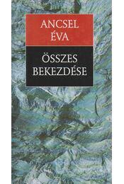 Ancsel Éva összes bekezdése - Ancsel Éva - Régikönyvek