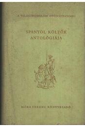 Spanyol költők antológiája - András László - Régikönyvek