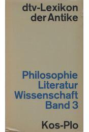 Philosophie, Literatur, Wissenschaft Band 3 - Andresen, Carl, Erbse, Hartmut, Gigon, Olof, Karl Schefold, Karl Friedrich Stroheker, Zinn, Ernst - Régikönyvek