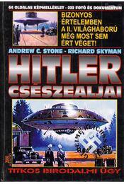 Hitler csészealjai - Andrew C. Stone, Richard Skyman - Régikönyvek