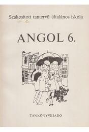 Angol 6. - Horváth József, Közéki Béláné - Régikönyvek