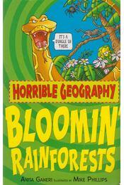 Bloomin' Rainforests - Anita Ganeri - Régikönyvek