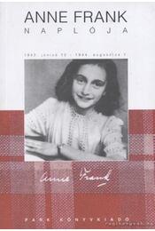 Anne Frank naplója - Anne Frank - Régikönyvek
