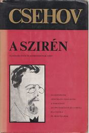 A szirén - Anton Pavlovics Csehov - Régikönyvek