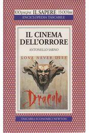 Il cinema dell'orrore - Antonello Sarno - Régikönyvek