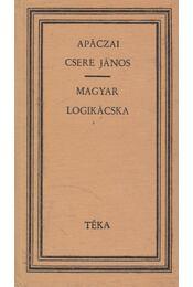 Magyar logikácska - Apáczai Csere János - Régikönyvek