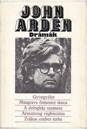 Drámák - Arden, John - Régikönyvek