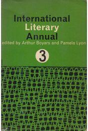International Literary Annual 3 - Arthur Boyars (szerk.), Pamela Lyon (szerk.) - Régikönyvek