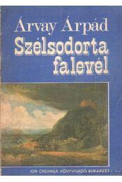 Szélsodorta falevél - Árvay Árpád - Régikönyvek
