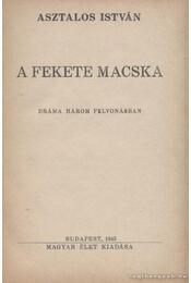 A fekete macska - Asztalos István - Régikönyvek