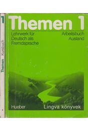 Themen 1 (Kursbuch + Arbeitsbuch Ausland) - Aufderstraße, Harmut, Bock, Heiko, Mechthild Gerdes, Müller, Helmut - Régikönyvek