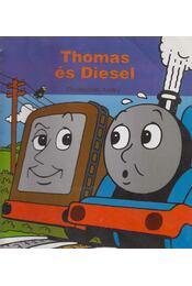 Thomas és Diesel - Awdry, Christopher - Régikönyvek