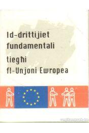 Id-drittijiet fundamentali tieghi fl-Unjoni Ewropea (máltai) (mini) - Régikönyvek