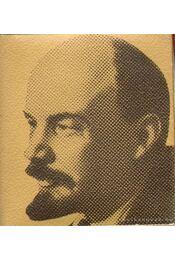 Vlagyimir Iljics Lenin születésének századik évfordulójára 1870-1970 (mini) - B. Fábri Magda - Régikönyvek