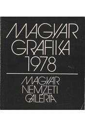 Magyar Grafika 1978 - B. Supka Magdolna - Régikönyvek