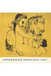 Országos Grafikai Hét - B. Supka Magdolna - Régikönyvek