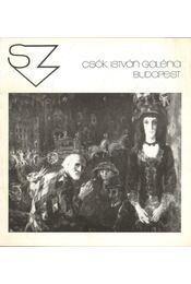 Szabó Vladimir kiállításának megnyitója (meghívó) - B. Supka Magdolna - Régikönyvek