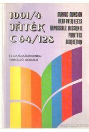 1001/4 játék C64/128 - Régikönyvek