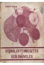 Gyümölcstermesztés és szőlőművelés - Csapó Gyula - Régikönyvek