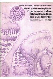 Neue paläontologische ergebnisse aus dem oberpaläozoikum des bükkgebirges - Schréter Zoltán, Sidó Mária, Zalányi Béla - Régikönyvek