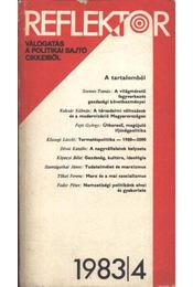 Reflektor 1983-4.szám - Fencsik László, Rákosné Szőke Katalin, Karvalics László, Vince Gábor, Csibra István - Régikönyvek