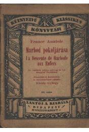 Marbod pokoljárása - Anatole France - Régikönyvek