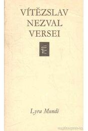 Vítezslav Nezval versei - Nezval, Vitezslav - Régikönyvek