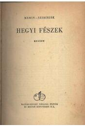 Hegyi fészek - Mamin-Szibirják - Régikönyvek