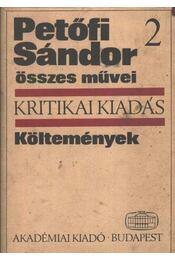 Petőfi Sándor összes költeményei 2. kötet - Régikönyvek