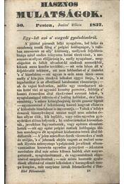 Hasznos mulatságok 1837/50. szám - Régikönyvek
