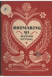 Rozmaring - Kiss Lajos - Régikönyvek