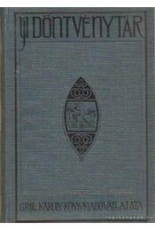 Uj döntvénytár IX. kötet - Bünvádi perrendtartás - Régikönyvek