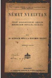 Német nyelvtan - Hauser Rezső, Dr. Schack Béla - Régikönyvek