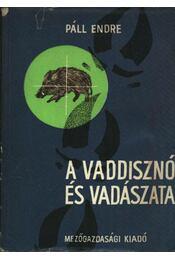 A vaddisznó és vadászata - Páll Endre - Régikönyvek