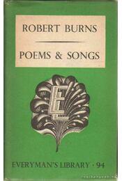 Poems and Songs - Robert Burns - Régikönyvek