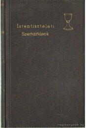 Református istentiszteleti szertartások (Liturgiák) - Pálóczi Czinke István - Régikönyvek
