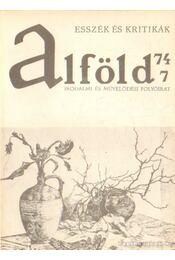 Alföld 1974/7. - Kovács Kálmán - Régikönyvek