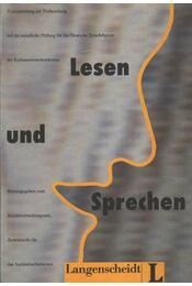 Lesen unk Sprechen - Régikönyvek