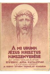 A Mi Urunk Jézus Krisztus kínszenvedése - Brentano Kelemen, Emmerick Anna Katalin - Régikönyvek