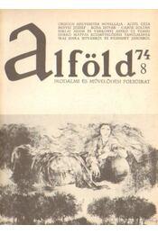 Alföld 1974/8. - Kovács Kálmán - Régikönyvek