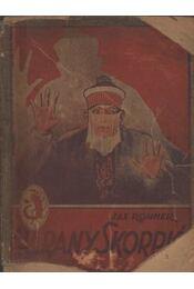 Az arany skorpió - Rohmer, Sax - Régikönyvek