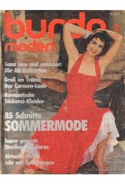 Burda moden 1985./5. Mai (német nyelvű) - Fehrenbach, Waltraud (szerk.), Ingrid Küderle (szerk.) - Régikönyvek