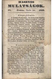 Hasznos mulatságok 1837/18. szám - Régikönyvek