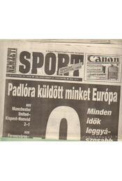 Nemzeti Sport 1993. szeptember (hiányos) - Borbély Pál - Régikönyvek