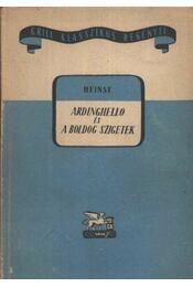 Ardinghello és a boldog szigetek - Heinse, J.J. Wilhelm - Régikönyvek