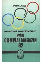 Nyári olimpiai magazin '92 - Bányai János - Régikönyvek