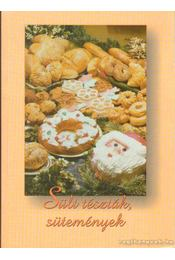 Sült tészták, sütemények - Boruzsné Jacsmenik Erika, Boruzs János - Régikönyvek
