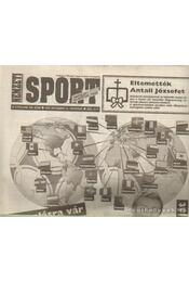 Nemzeti Sport 1993. december IV. évfolyam (hiányos) - Borbély Pál - Régikönyvek