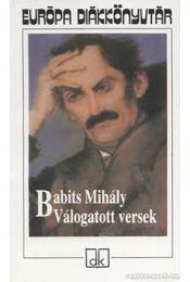 Válogatott versek - Babits Mihály - Régikönyvek