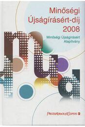 Minőségi Újságírásért-díj 2008 - Bajnai Zsolt (szerk.) - Régikönyvek
